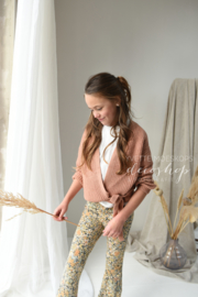 Ambika flared legging vintage flower
