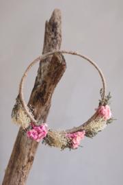 Droogbloemen haarband handmade nr.8