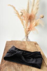 Hoofdband Velvet zwart