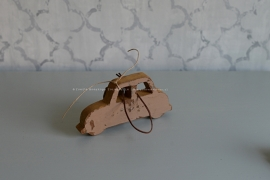 Auto hanger hout