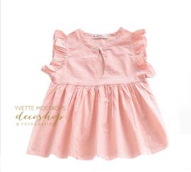 Tuniek jurkje roze