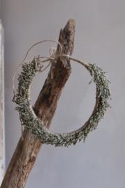 Droogbloemen haarband handmade nr 1