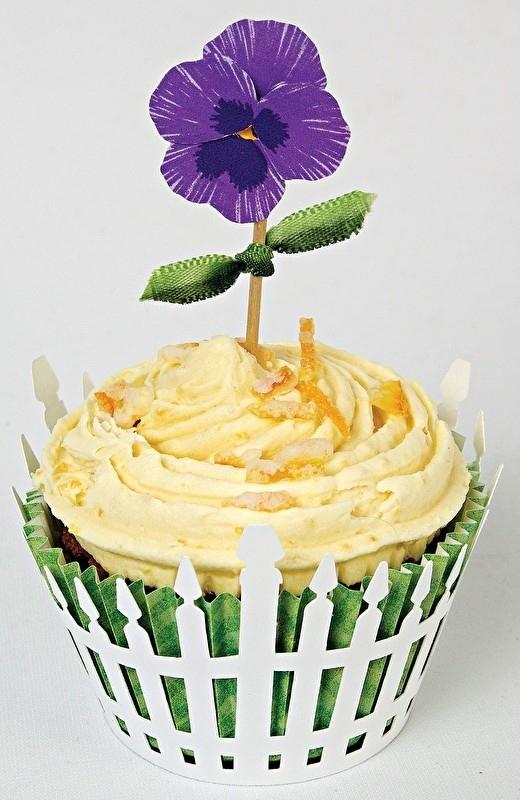 Meri Meri cupcake set bloem