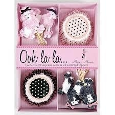 Meri Meri cupcake set Ooh la la