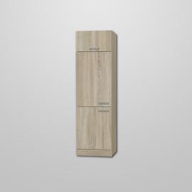 Hogekast met klep Neapel 60x60x206,8 cm