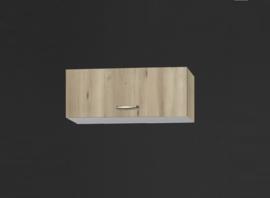 Bovenkast met klepdeur 60cm Elba edel beuken