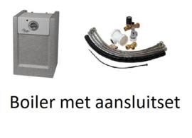 Spoelbak met onderkast 100x50cm met of zonder overloop mogelijkheid
