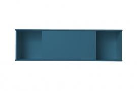 Onderblok met schuifkast blauw 150x60 cm