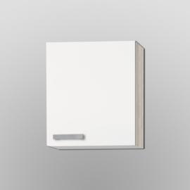 Bovenkast Genf wit met akazia design 50x57,6