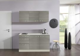 Vigo keuken Pantry koelkast + bovenkast 150x60 cm