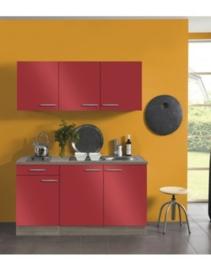 Keuken rood imola 150x60 cm