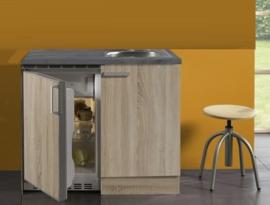 Neapel keuken 100x60cm antraciet