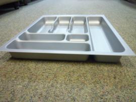 Besteklade grijs komfort geschikt voor lade 50x60 cm