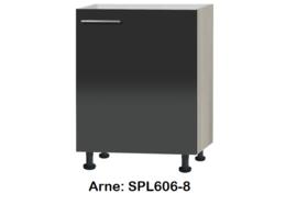 Spoel onderkast 60cm zonder werkblad Arne