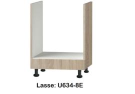 Inbouw onderkast 60cm zonder werkblad Lasse