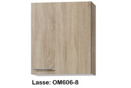 Bovenkast 60cm Lasse hoogte 70,4 cm