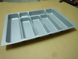 Besteklade grijs 53,5 x 36,7 cm (geschikt voor lade 60x60 cm)