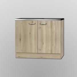 Spoelbak met onderkast Elba 100x60 cm
