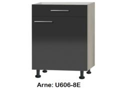 Onderkast 60cm zonder werkblad Arne