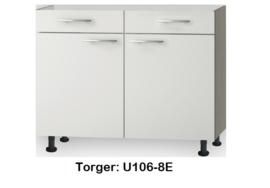 Onderkast 100 cm zonder werkblad Torger