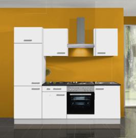 Complete keuken met of zonder apparatuur Bengt wit