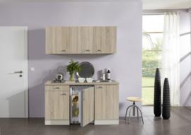 Eiken/eiken keuken pantry opstelling 150x60cm