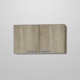 Bovenkast Neapel licht eiken design 100x57,6 cm
