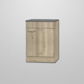 Spoel onderkast Elba Front Edel beuken design 60x60x82cm
