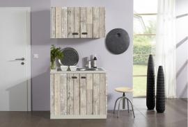 Planken pantry kleine keuken oplossing 100x60 cm