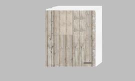 Bovenkast Hoog 60 x 89,6 x 34,6 steigerhout