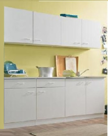 Keuken 50 Klassik 200 x 50 x 209 cm Wit