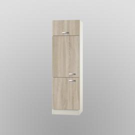 Hogekast met klep Padua 60x60x206,8 cm