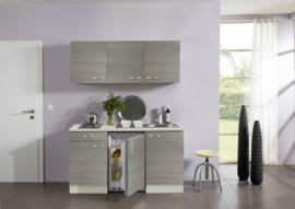 Pijnboom fantasy /champagne keuken pantry opstelling 150x60cm