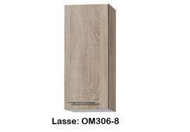 Bovenkast 30cm Lasse hoogte 70,4 cm
