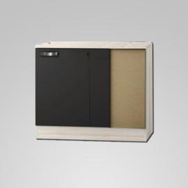 Hoek Onderkast Faro 110x60x82cm