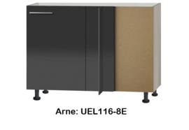 Hoek onderkast 110cm zonder werkblad Arne