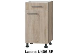 Onderkast 40cm zonder werkblad Lasse
