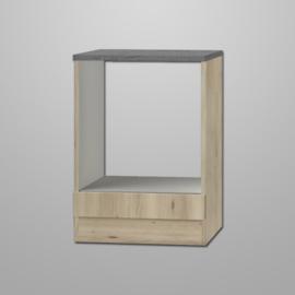 Inbouw onderkast Elba 60x60x82 edel beuken decor