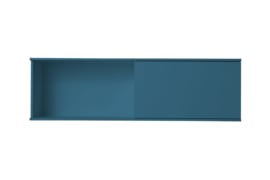 Wit Akazia lade blok met schuifkast 150x60