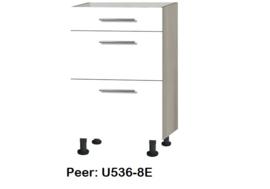 Onderkasten met uittreklade, zonder werkblad Peer
