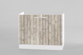 Spoel onderkast steigerhout 100x50 cm