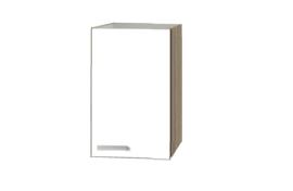 Bovenkast Zamora hoog wit met licht eiken design 40x89,6