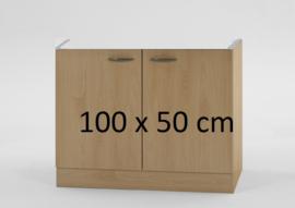 Onderkast zonder werkblad 100x50 cm