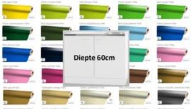 Spoelonderkast RVS werkblad alle kleuren 100x60x82cm