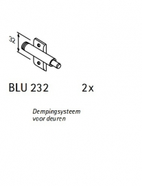 Hoek onderkast Genf 110x60x82cm