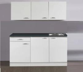 wit /wit keuken pantry opstelling 160x60cm
