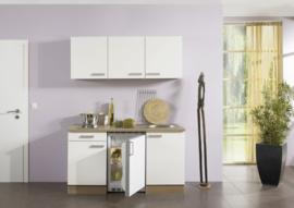 wit /akazia keuken pantry opstelling 150x60cm