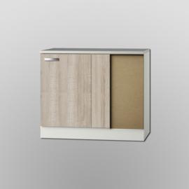 Hoek Onderkast Padua 110x60x82cm