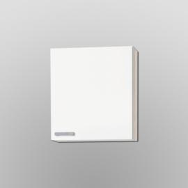 Bovenkast Genf wit met akazia design 60x57,6 cm