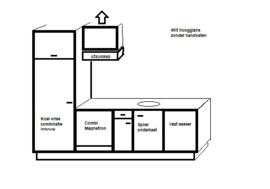 complete wit hoogglans keuken Sina818